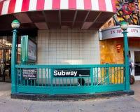 de 34ste Post van de Metro van de Straat Royalty-vrije Stock Afbeelding