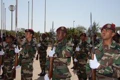 De 35ste verjaardag van Onafhankelijkheid van Kaapverdië Royalty-vrije Stock Foto's