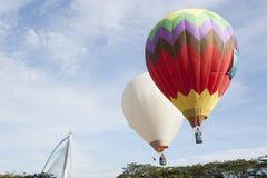 de 3de Internationale Fiesta van de Ballon van de Hete Lucht Putrajaya Stock Foto's