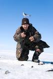 De 5de Visserij van Baikal stock afbeelding