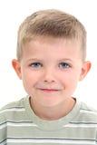 De aanbiddelijke Jongen van Vier Éénjarigen Stock Foto's