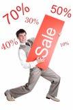 De aanbieding van de verkoop Royalty-vrije Stock Fotografie