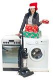 De aanbieding van Kerstmis Royalty-vrije Stock Foto's