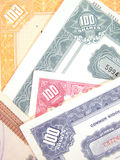 De Aandelen van Wall Street Royalty-vrije Stock Foto