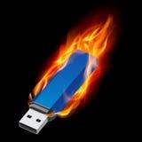 De Aandrijving van de Flits USB royalty-vrije illustratie