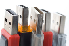 De aandrijving van de Flits USB Royalty-vrije Stock Afbeeldingen