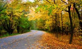 De Aandrijving van de herfst Royalty-vrije Stock Afbeeldingen