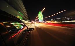 De Aandrijving van de nacht Stock Afbeeldingen