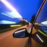 De aandrijving van de snelheid Stock Afbeelding