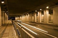 De Aandrijving van de tunnel Royalty-vrije Stock Foto