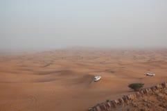 De Aandrijving van de woestijn Stock Fotografie