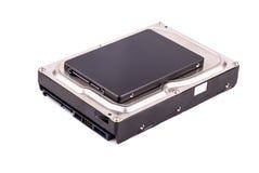 De aandrijving van HDD en SSD- Stock Fotografie