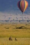 De aandrijving van het hete luchtspel Royalty-vrije Stock Afbeelding