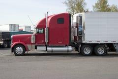 De aanhangwagen van de tractor Stock Fotografie