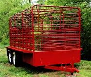 De aanhangwagen van het paard Royalty-vrije Stock Afbeelding