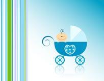 De aankondiging van de baby Stock Foto