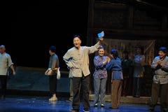 De aankondiging van de verkiezing vloeit Jiangxi-opera een weeghaak voort Royalty-vrije Stock Afbeeldingen