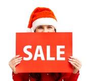 De aankondiging van de verkoop Royalty-vrije Stock Afbeeldingen