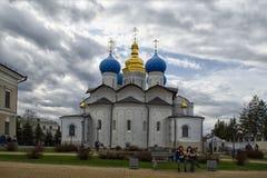 De Aankondigingskathedraal in Kazan het Kremlin royalty-vrije stock fotografie