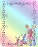 De aankondigingsmalplaatje van de baby Stock Foto