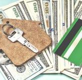 De aankoop van huisvesting op krediet royalty-vrije stock afbeelding