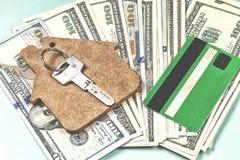 De aankoop van huisvesting op krediet stock fotografie