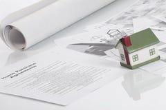 De aankoopovereenkomsten van het huis Royalty-vrije Stock Afbeeldingen
