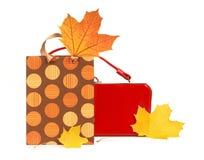 De Aankopen van de herfst Stock Fotografie