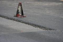 De aanleg van wegen stock fotografie