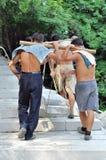 De aanleg van wegen in zhuhai royalty-vrije stock foto