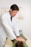 De Aanpassing van de chiropraktijk Royalty-vrije Stock Fotografie