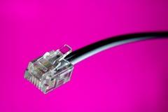 De aansluting van de kabel royalty-vrije stock foto