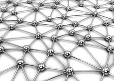 De aansluting van het netwerk royalty-vrije illustratie