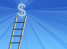 De aansporing van het geld Stock Afbeelding