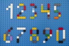De aantallen van de Legodouane royalty-vrije stock fotografie