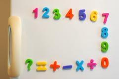 De aantallen van de magneet stock foto's