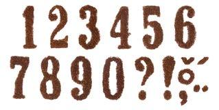 De aantallen van de tabak Stock Foto's