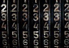 De aantallen van Grunge Stock Foto