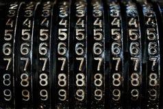 De aantallen van Grunge Royalty-vrije Stock Foto