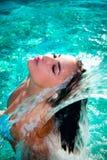 Het genoegen van het water Stock Foto's