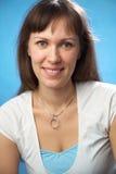 De aantrekkelijke vrouw van het portret Royalty-vrije Stock Afbeelding