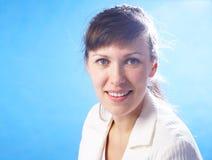 De aantrekkelijke vrouw van het portret Stock Foto's