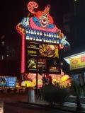 De Aantrekkelijkheden van Las Vegas stock afbeelding
