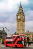 De aantrekkelijkheden van Londen Royalty-vrije Stock Afbeelding