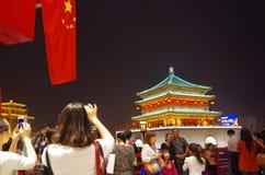 De aantrekkelijkheid van China van xi een 'ShiYiQiTian-vakantie royalty-vrije stock afbeeldingen