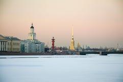 De Aantrekkelijkheid van St. Petersburg stock afbeelding