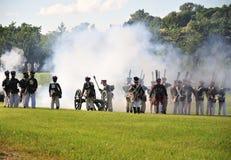 De aanval van de artillerie Royalty-vrije Stock Afbeelding