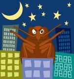 De Aanval van het Insect van het bed Stock Foto's
