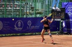 De aanval van het tennis Royalty-vrije Stock Afbeeldingen
