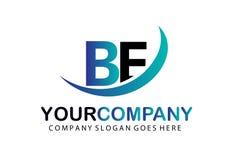 De aanvankelijke Brief IS Logo Concept Design Royalty-vrije Stock Foto's